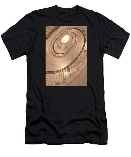 U. S. Supreme Court Oval Stairway Men's T-Shirt (Athletic Fit)