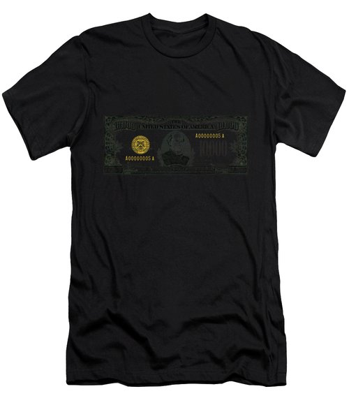 U.s. Ten Thousand Dollar Bill - 1934 $10000 Usd Treasury Note Men's T-Shirt (Athletic Fit)