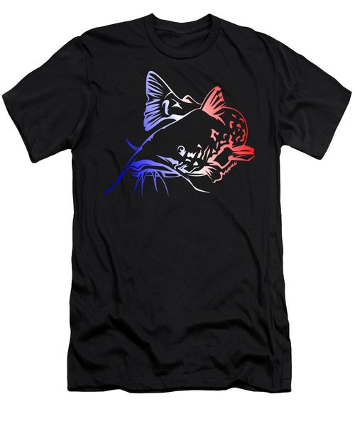 Usa Catfish Men's T-Shirt (Athletic Fit)