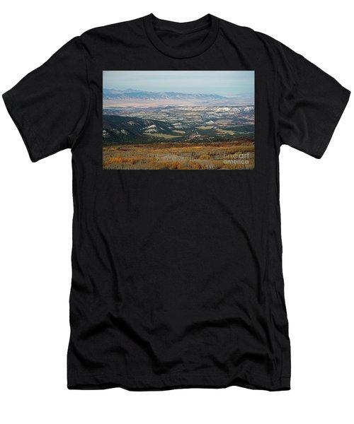 Utah A Patchwork Men's T-Shirt (Athletic Fit)