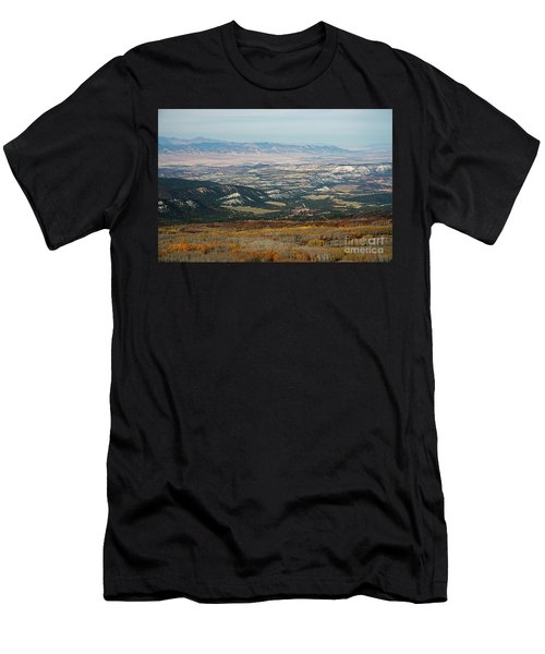 Utah A Patchwork Men's T-Shirt (Athletic Fit)