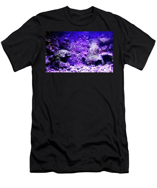 Men's T-Shirt (Athletic Fit) featuring the photograph Uw Coral Stone 2 by Francesca Mackenney
