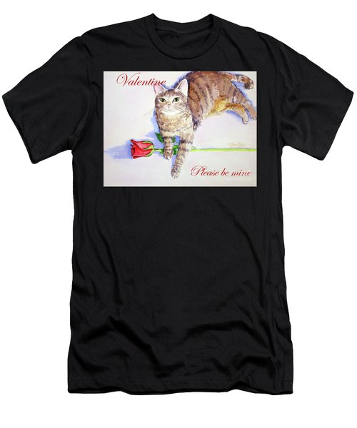 Valentine Mocha 1 Men's T-Shirt (Athletic Fit)