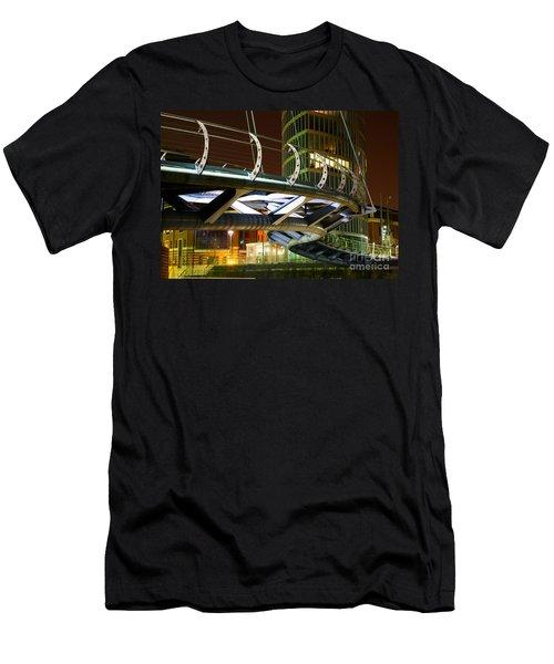 Valentines Bridge, Bristol Men's T-Shirt (Athletic Fit)