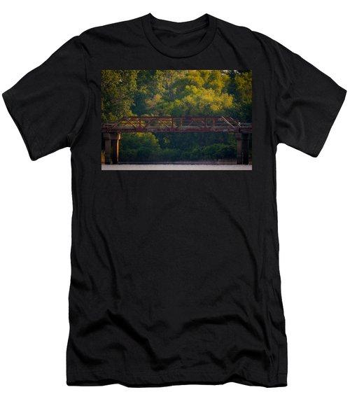 Valley Brook Bridge Men's T-Shirt (Athletic Fit)