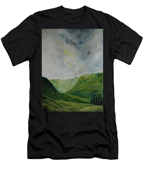 Valley Of Eagles Men's T-Shirt (Athletic Fit)