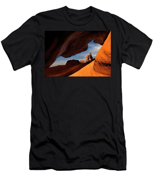 Valley Of Fire Look Through Men's T-Shirt (Athletic Fit)