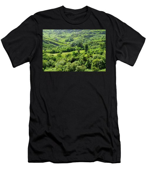 Valley Of Green Men's T-Shirt (Athletic Fit)