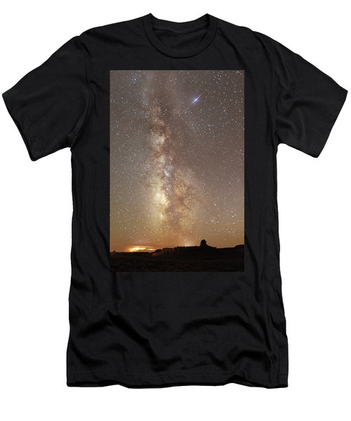 Valley Of The Gods Milky Way Men's T-Shirt (Athletic Fit)