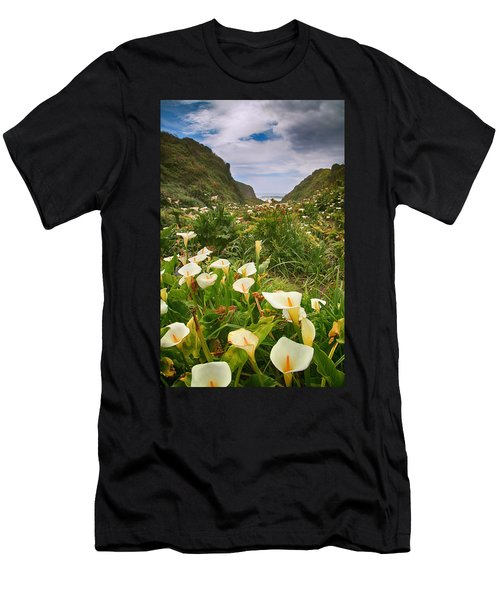 Valley Of The Lilies Men's T-Shirt (Athletic Fit)