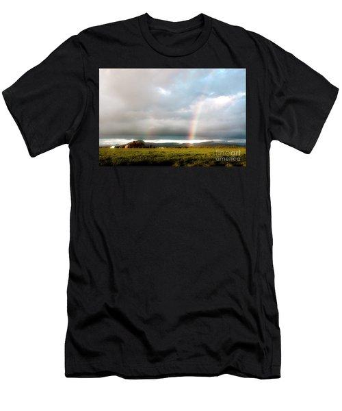 Valley Rainbows 1 Men's T-Shirt (Athletic Fit)