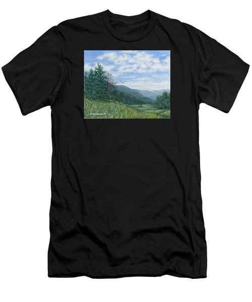 Valley View Men's T-Shirt (Athletic Fit)