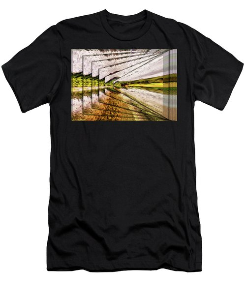 Van Gogh Perspective Men's T-Shirt (Athletic Fit)