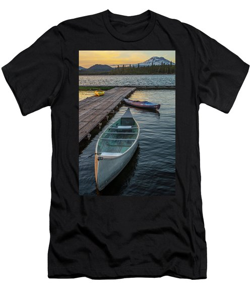 Variation On A Theme At Lava Lake Men's T-Shirt (Athletic Fit)