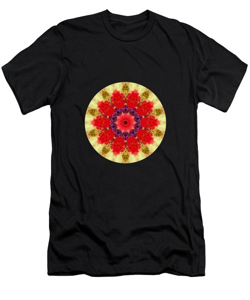 Vase Of Delight-still Life Painting By V.kelly Men's T-Shirt (Athletic Fit)