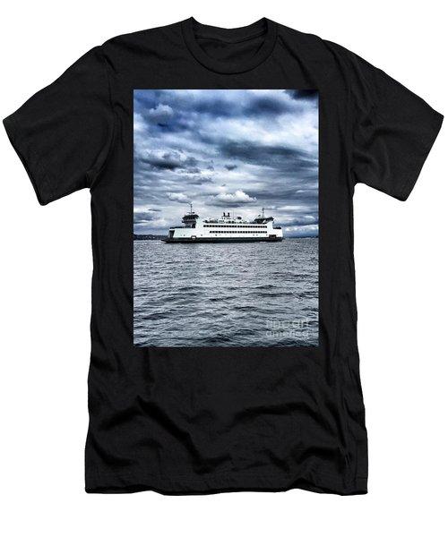 Vashon Island Ferry Men's T-Shirt (Athletic Fit)