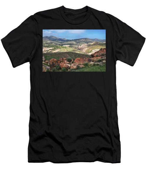 Vasquez Rocks Park Men's T-Shirt (Athletic Fit)
