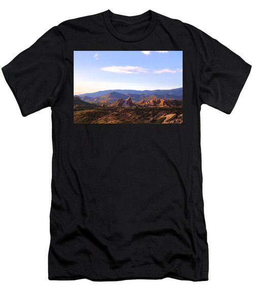Vasquez Rocks Sky And Stones Men's T-Shirt (Athletic Fit)