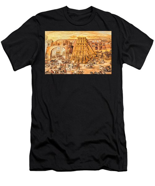 Vatican Obelisk Men's T-Shirt (Athletic Fit)
