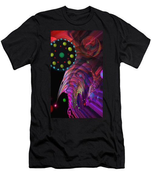 Vegas Dreams Men's T-Shirt (Slim Fit) by Kevin Caudill