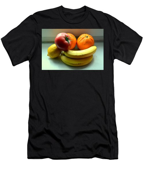 Vegetables And Fruits Men's T-Shirt (Athletic Fit)