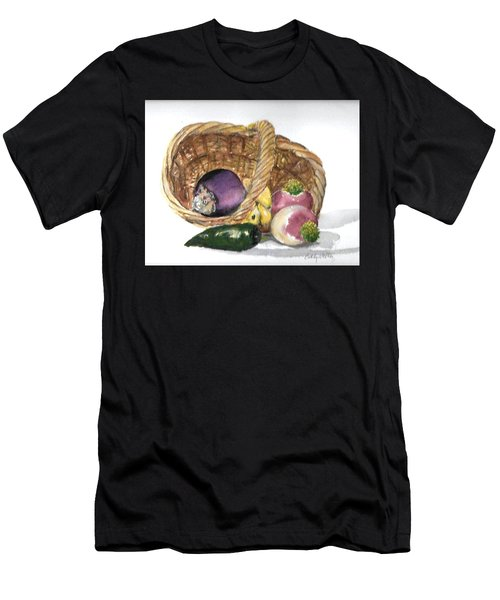 Veggie Basket Men's T-Shirt (Athletic Fit)