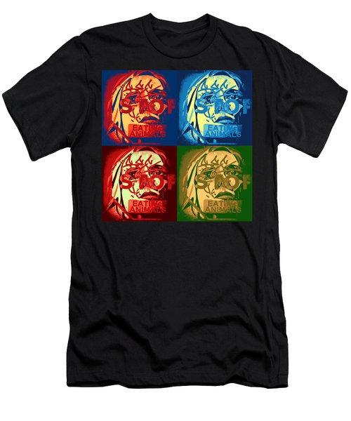Veggie Pamphlet  Men's T-Shirt (Athletic Fit)