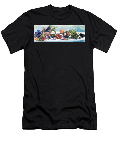 Veggies  Men's T-Shirt (Athletic Fit)