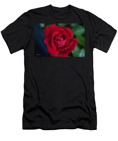 Velvet Red Men's T-Shirt (Athletic Fit)
