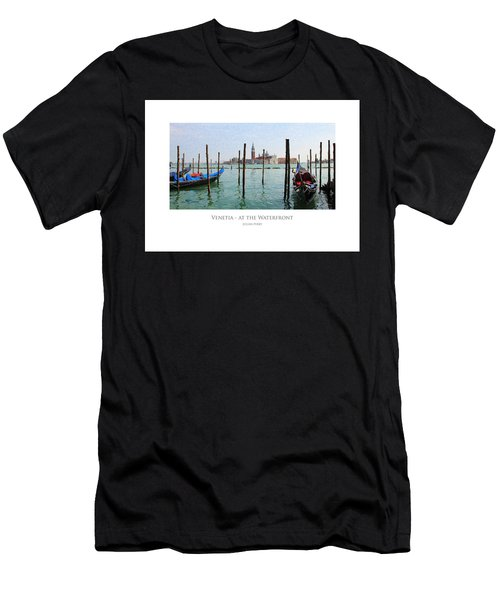 Venetia - At The Waterfront Men's T-Shirt (Athletic Fit)