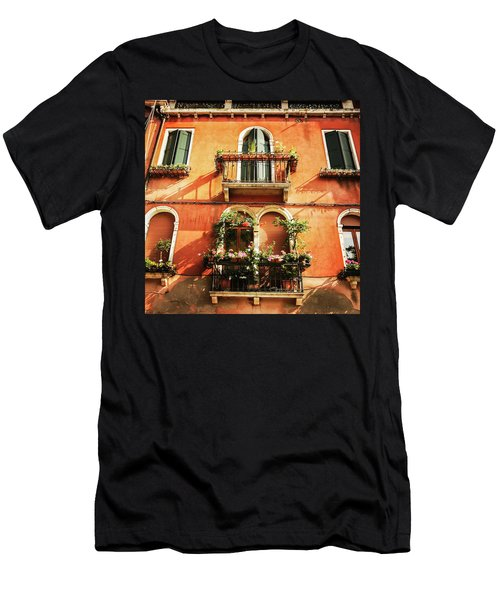 Venetian Windows Men's T-Shirt (Athletic Fit)