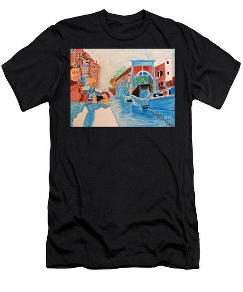 Venice Celebration Men's T-Shirt (Athletic Fit)