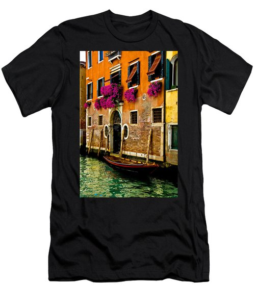 Venice Facade Men's T-Shirt (Slim Fit) by Harry Spitz