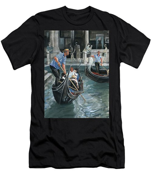 Venice. Il Bacino Orseolo Men's T-Shirt (Athletic Fit)