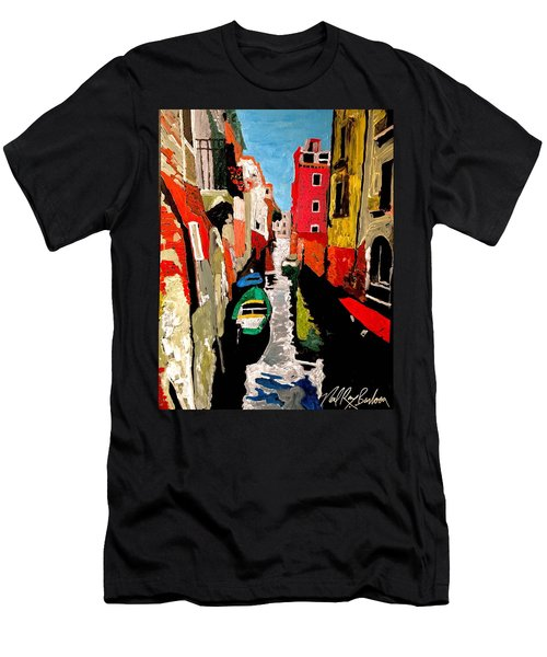 Venice Italy  Men's T-Shirt (Athletic Fit)