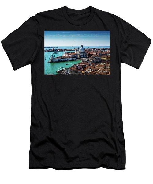 Venice Men's T-Shirt (Slim Fit) by M G Whittingham
