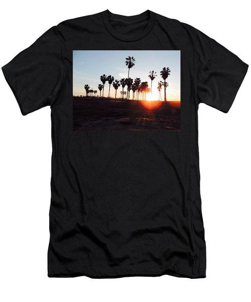 Venice Sunset Men's T-Shirt (Athletic Fit)