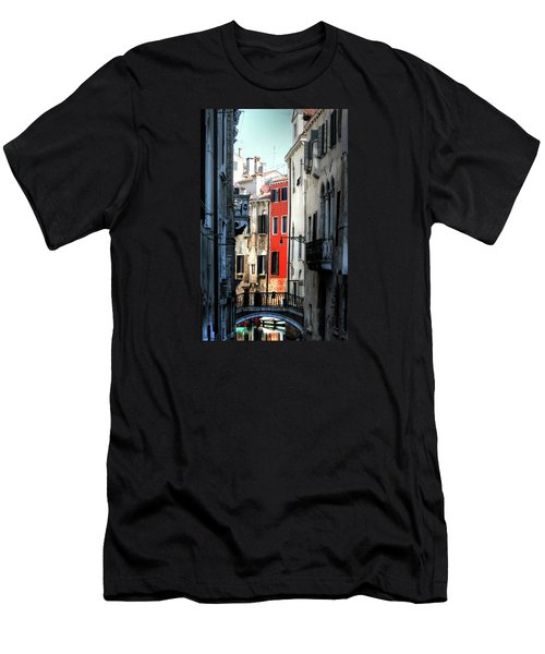 Men's T-Shirt (Slim Fit) featuring the photograph Venice Xx by Tom Prendergast