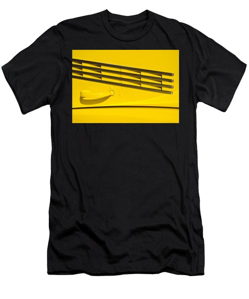 Vented Chrome To Yellow Men's T-Shirt (Athletic Fit)