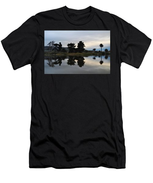Men's T-Shirt (Slim Fit) featuring the photograph Ventura California Coast Estuary by Kyle Hanson