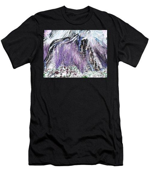 Venus Blue Garden Men's T-Shirt (Athletic Fit)