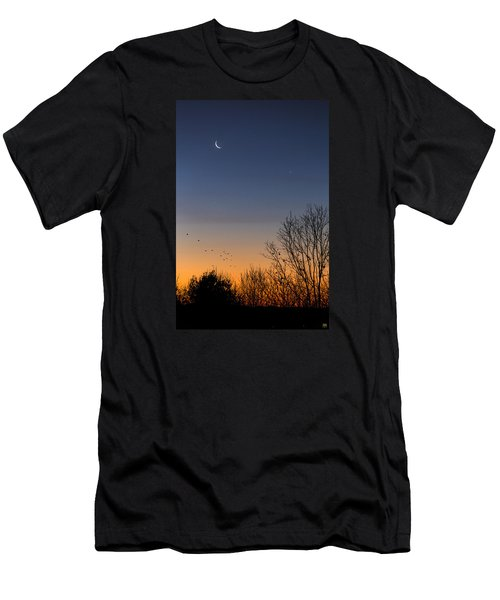 Venus, Mercury And The Moon Men's T-Shirt (Athletic Fit)