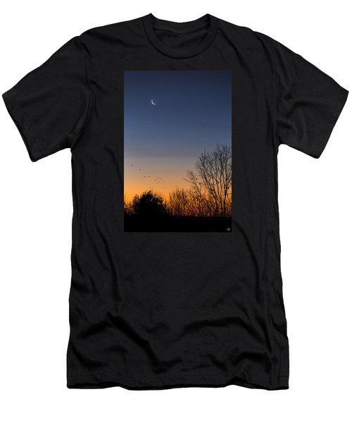 Venus, Mercury And The Moon Men's T-Shirt (Slim Fit)