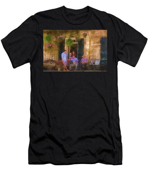 Veranda Bleue Men's T-Shirt (Athletic Fit)