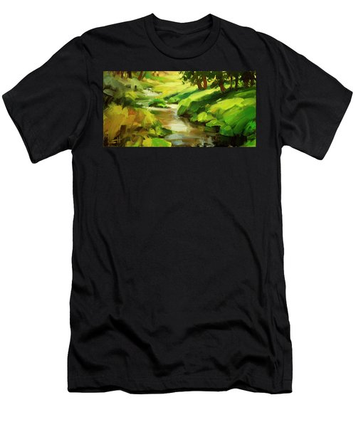 Verdant Banks Men's T-Shirt (Athletic Fit)