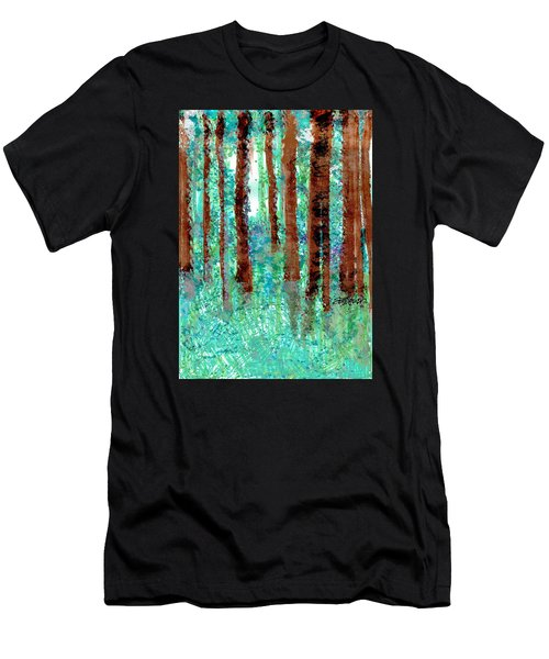 Verdant Vistas Men's T-Shirt (Athletic Fit)