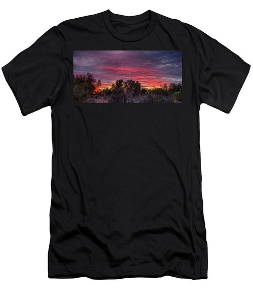 Verigated Sky Men's T-Shirt (Athletic Fit)