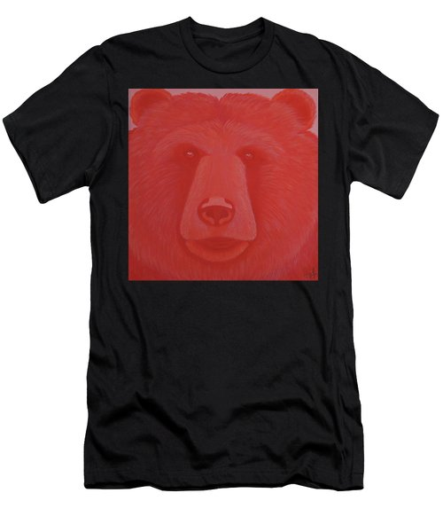 Vermillion Bear Men's T-Shirt (Athletic Fit)