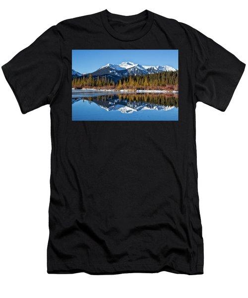 Vermillion Reflections Men's T-Shirt (Athletic Fit)