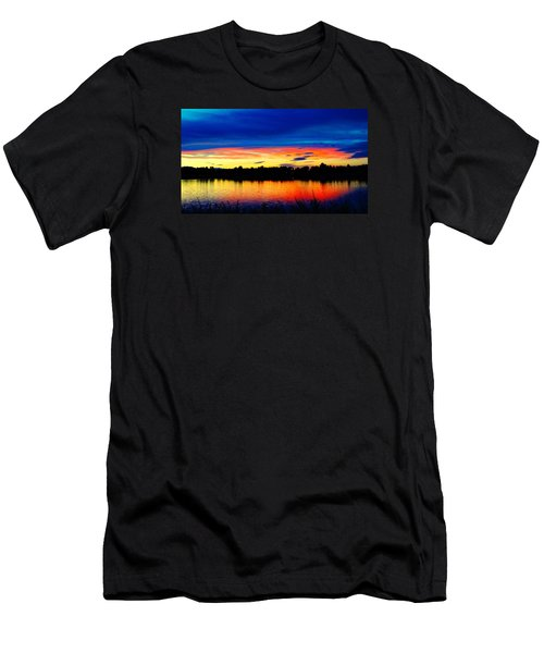 Vermillion Sunset Men's T-Shirt (Athletic Fit)